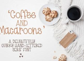 Coffee & Macaroons Font