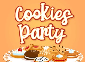 Cookies Party Font