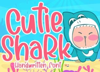 Cutie Shark  Font