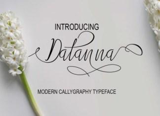 Datanna Matanna Font