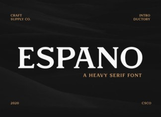 Espano Font