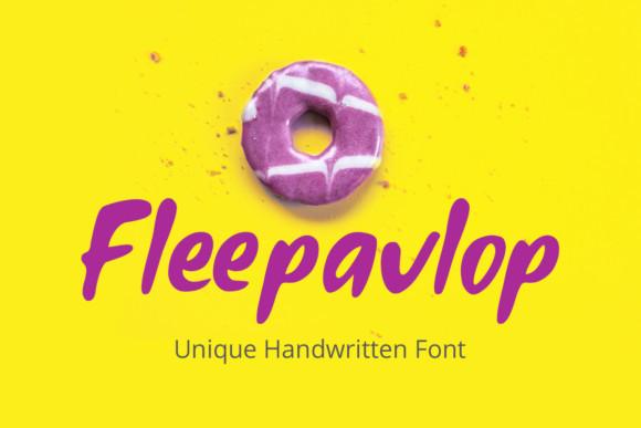 Fleepavlop Font