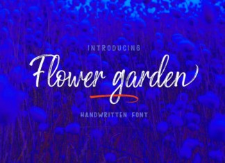 Flower Garden Font