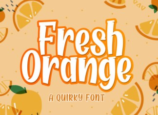 Fresh Orange Font