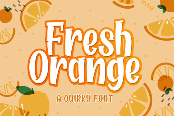 Fresh Orange Font