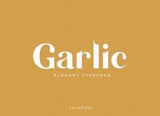 Garlic Font
