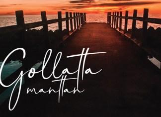 Gollatta Manttan Font