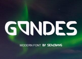 Gondes  Font
