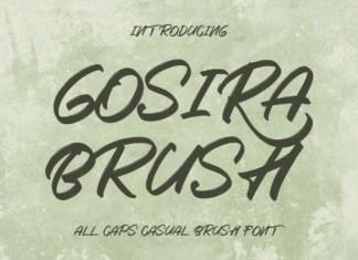 Gosira Font