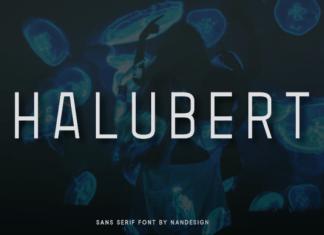 Halubert Font
