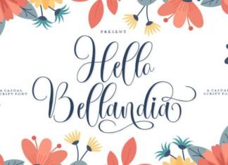 Hello Bellandia Font