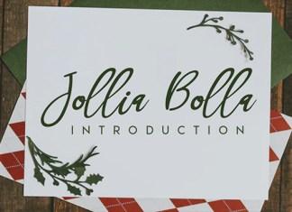 Jollia Bolla Font