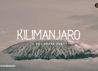 Kilimanjaro Font