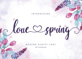 Love Spring  Font