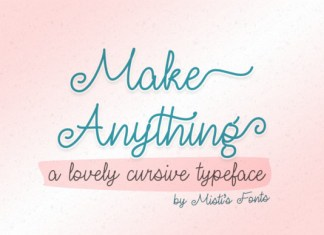 Make Anything Font