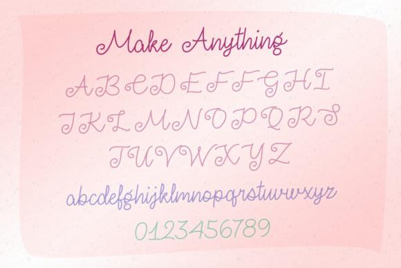 Make Anything Font