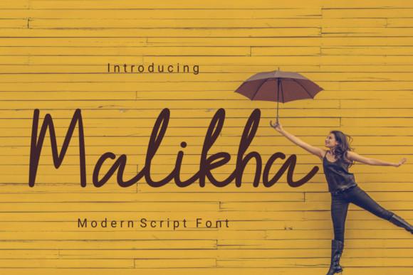 Malikha Font