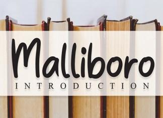 Malliboro Font