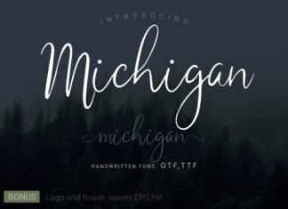 Michigan Font
