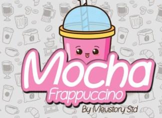Mocha Frappuccino Font