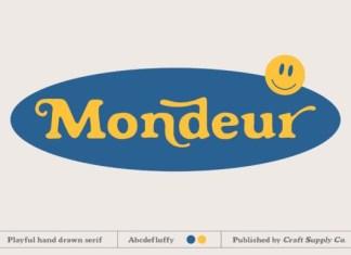 Mondeur Font