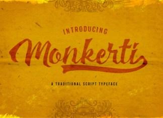 Monkerti Font