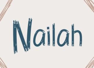 Nailah Font