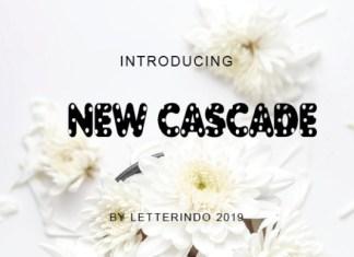 New Cascade  Font