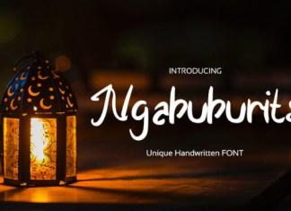 Ngabuburits Font