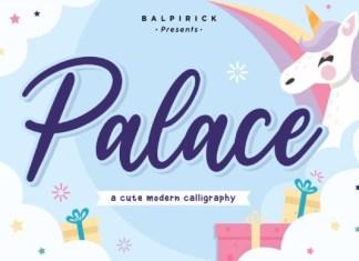 Palace  Font
