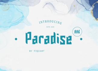 Paradise Font