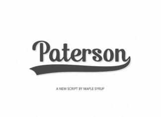 Paterson Font