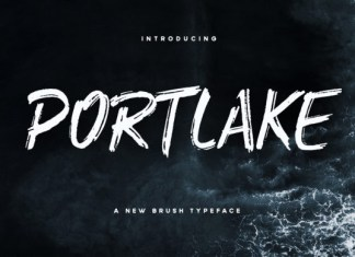 Portlake Font