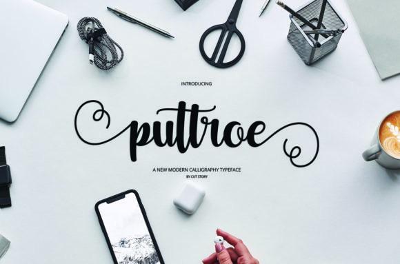 Puttroe Font