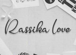 Rassika Love Font