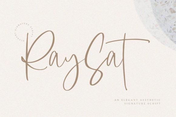 Raysat Font