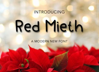 Red Mieth Font