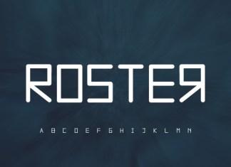 Roster Font