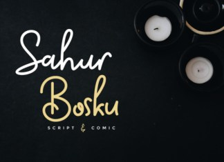 Sahur Bosku Font