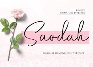 Saodah Font
