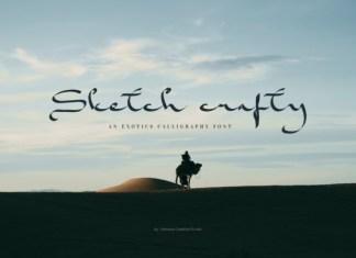 Skecth Crafty Font