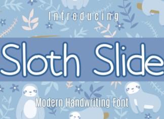Sloth Slide Font