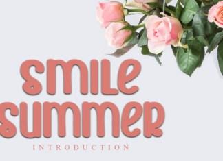 Smile Summer Font
