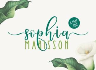 Sophia Marisson Font