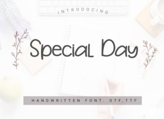 Special Day Font