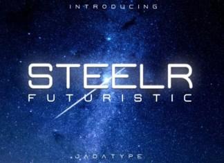 Steelr Font
