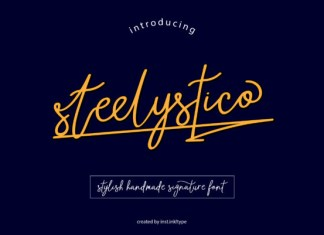 Steelystico Font