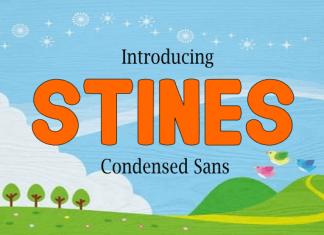 Stines Font