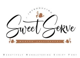 SweetServe Font