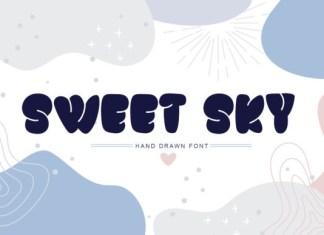 Sweet Sky Font